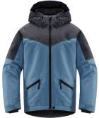 Niva Insulated Jacket Junior Silver Blue/Dense Blue