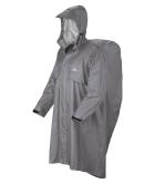Poncho Trekker Ripstop grigio chiaro