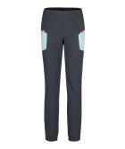 Ski Style Pants Woman Piombo/Ice Blue