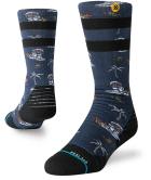 Space Monkey Y Snow Socks Navy