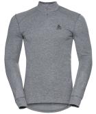 ML 1/2 ZIP Active W Grey Mix T-Shirt