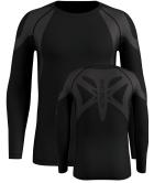 T-Shirt ML Active Spine Warm Light Black