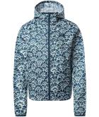 W Cyclone Jacket Monterey Blue Ashbury Floral Print