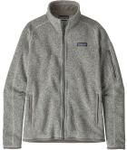 W's Better Sweater Jkt Birch White