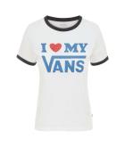 Wm Vans Love Ringer White/Black