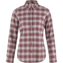 Buy Övik Flannel Shirt W Mesa Purple-Fog