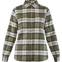 Buy Övik Heavy Flannel Shirt W Green