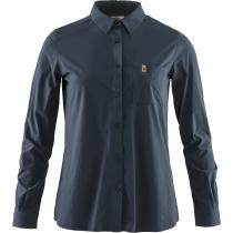 Buy Övik Lite Shirt LS W Navy
