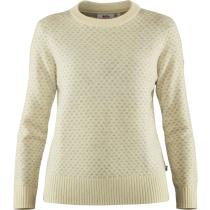 Acquisto Övik Nordic Sweater W Chalk White