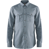 Kauf Övik Travel Shirt LS M Clay Blue