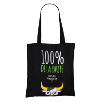 Buy 100% De La Yaute Tote Bag Black