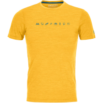 Acquisto 120 Cool Tec Icons T-Shirt M Yellowstone Blend