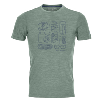 Kauf 120 Cool Tec Puzzle T-Shirt M Green Forest Blend