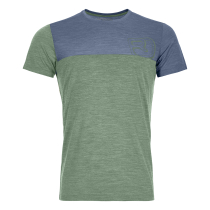 150 Cool Logo T-Shirt M Green Isar Blend
