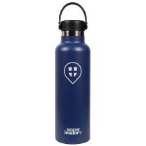 Kauf 21 Oz Hydroflask x Snowleader Cobalt