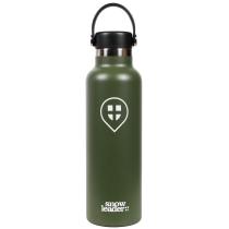 Achat 21 Oz Hydroflask x Snowleader Olive