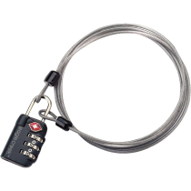Buy 3-Dial TSA Lock&Cable graphite