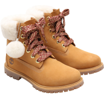 Buy 6in Premium w/Shearling Collar Wheat