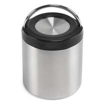 Kauf 8oz TK Canister (w/Insulated Lid) Brushed Stainless