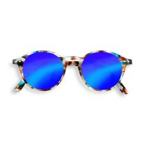 Achat #D Sun Blue Tortoise Mirror