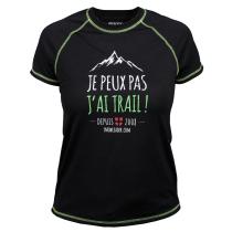 Achat  T-Shirt Technique Merinos J'ai Trail Femme