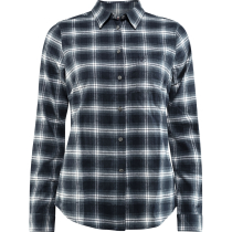 Achat Övik Flannel Shirt W Dark Navy