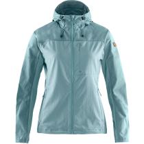 Kauf Abisko Midsummer Jacket W Mineral Blue-Clay Blue