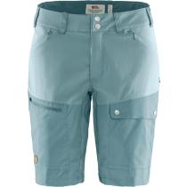 Buy Abisko Midsummer Shorts W Mineral Blue-Clay Blue