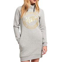 Kauf Ace Hooded Sweat Dress W Dawn Grey Marl