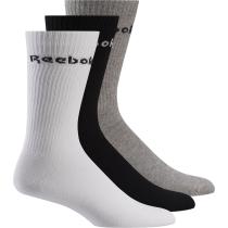 Buy Act Core Mid Crew Sock 3P Medium Grey Heather Black White
