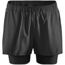 Buy Adv Essence 2-In-1 Stretch Shorts M Black