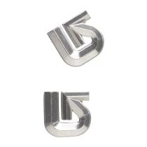Compra Al Logo Mat Silver
