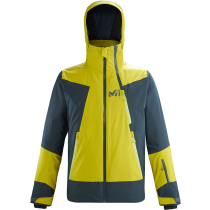 Achat Alagna Stretch Jacket M Wild Lime/Orion Blue