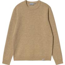 Buy Allen Sweater Dusty H Brown Heather