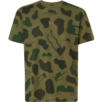Buy Allover Sunglass Tee Camou Green