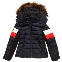 Achat Alpine Fur Luxe Puffer W Eclipse Navy