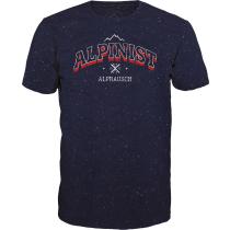 Acquisto Alpinischt T-Shirt Navy Fancy Melange