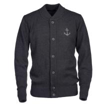 Achat Anchor Merino Knit Cardigan Grey