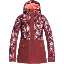 Buy Andie Parka Jk Oxblood Red Leopold