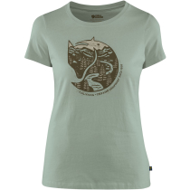 Buy Arctic Fox Print T-shirt W Sage Green