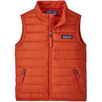Buy Baby Down Sweater Vest Metric Orange