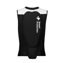 Acquisto Back Protector Race Vest M True Black/Snow White