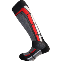 Achat Backside Socks Gris Rouge
