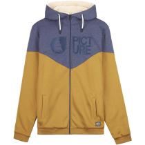 Buy Basement Plush Zip Hood Dark Golden