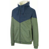 Achat Basement Plush Zip Hoodie M Army Green