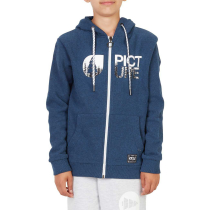 Buy Basement Hoody K Zip Dark Blue