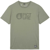 Achat Basemt Flock Tee Dusty Olive