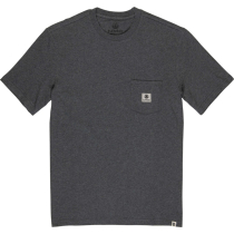 Achat Basic Pocket Label Tee Charcoal Heathe