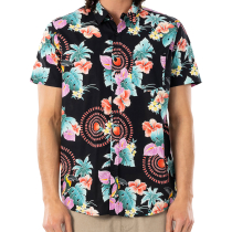 Buy Beach Party S/S Shirt Black