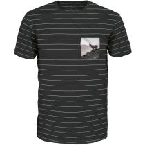 Achat Bergläufer T Shirt Black Striped